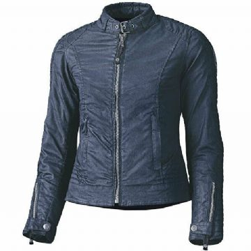Held Ladies Falcon Urban Waterproof Wax Cotton Motorcycle Motorbike Jacket Blue